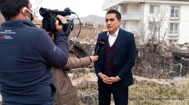 Gülşehir'de Bin Yıllık Hamam Keşfedildi