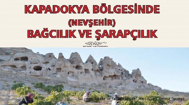 Nevşehir'de Bağcılık ve Şarapçılık Kitabı Çıktı