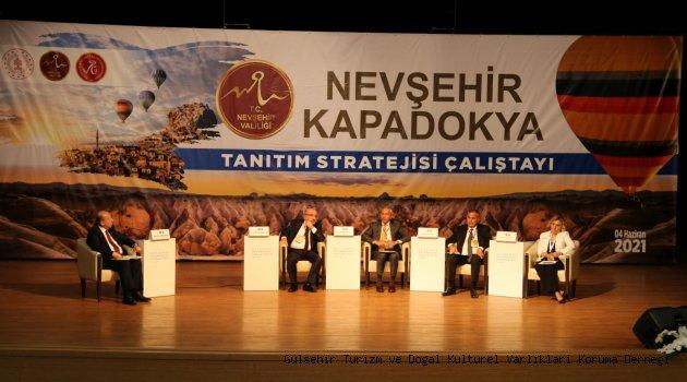 Turizm Tanıtma Stratejisi Çalıştayı Yapıldı