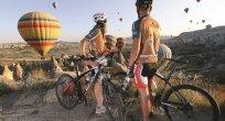 Kapadokya'da Dağ Bisikletçiliği